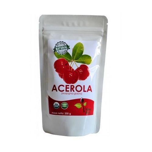 Acerola 25% sproszkowany ekstrakt z owoców aceroli 200g marki Kenay ag