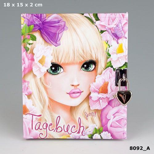 Pamiętnik na kłódkę Top Model - PLUS-Z