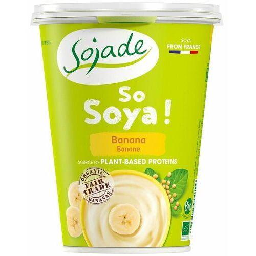Produkt sojowy bananowy bio 400 g - sojade marki Sojade dystrybutor: bio planet s.a., wilkowa wieś 7, 05-084 leszno k.