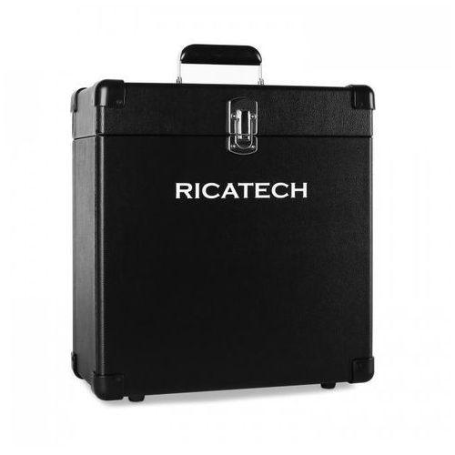 Ricatech Rc0042 kufer na płyty winylowe 30 płyt czarny