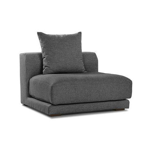 Fotel grafitowy - środkowy moduł - fotel tapicerowany - CLOUD (fotel)