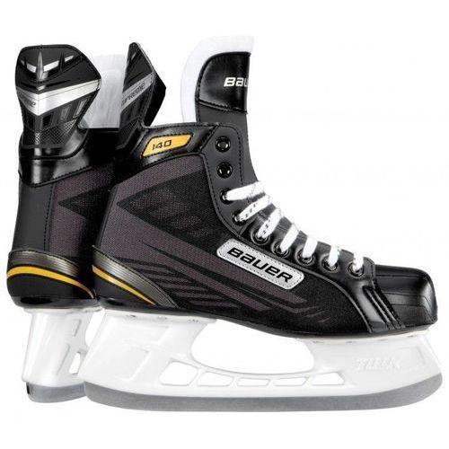 Łyżwy hokejowe dziecięce Bauer Supreme 140 Junior - oferta [256ce0064122b59a]