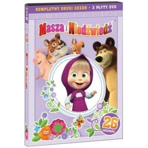 MASZA I NIEDŹWIEDŹ, PAKIET CZĘŚCI 4-6 (3DVD) (7321997610830)