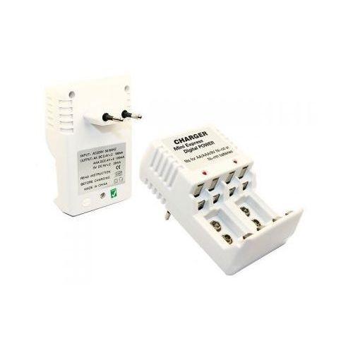 Sieciowa Ładowarka do (3-rodzai) Akumulatorków AA/AAA/9V., 5900308620021