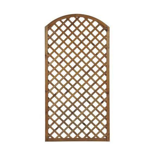 Płot kratkowy z łukiem 90x180 cm drewniany NIVE NATERIAL