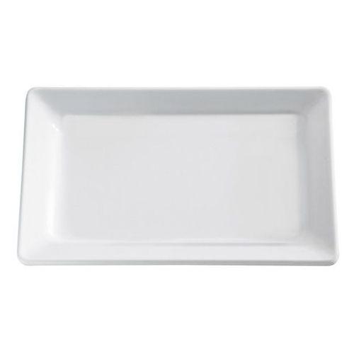 Półmisek prostokątny z melaminy GN 2/4 530x162 mm, biały | APS, Pure
