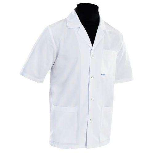 Bluza medyczna męska klasyczna z kołnierzem - dla lekarza 001m marki Dlapacjenta.pl - odzież medyczna