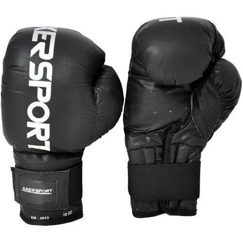 Axer sport Rękawice bokserskie a1337 czarny (8 oz) + zamów z dostawą jutro!