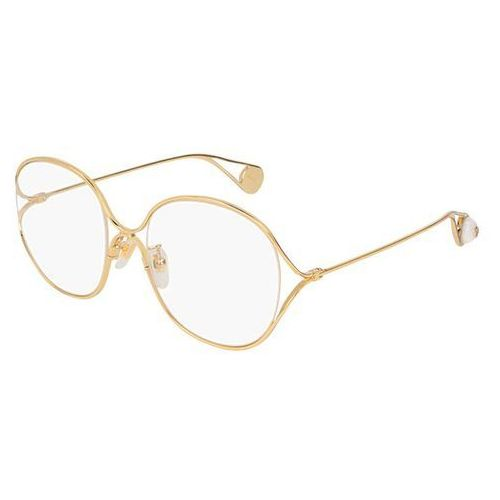 Gucci Okulary korekcyjne gg 0254oa asain fit 001