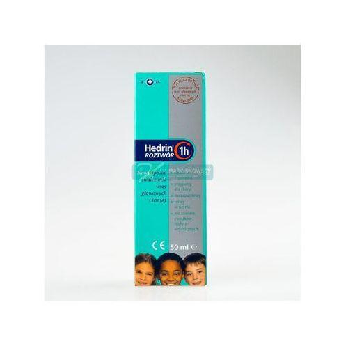 Hedrin p/wszawicy płyn - 50 ml, postać leku: płyn