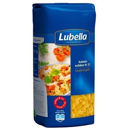 Lubella 500g makaron kolanka ozdobne creste di gallo