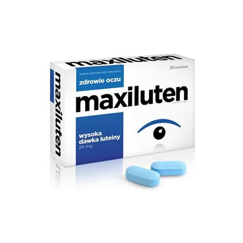 Maxiluten 30 tabletek marki Aflofarm farmacja polska sp. z o