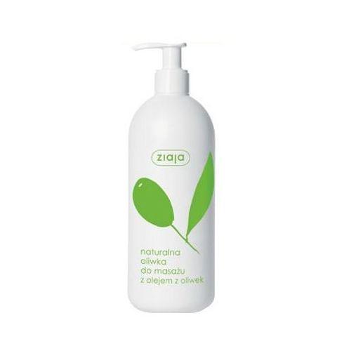 Naturalna oliwka do masażu z olejem z oliwek marki Ziaja