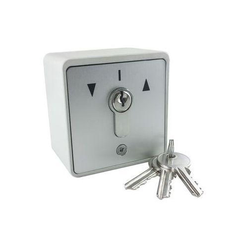 Geba Przełącznik natynkowy, kluczykowy, ap + 3, klucze w zestawie,
