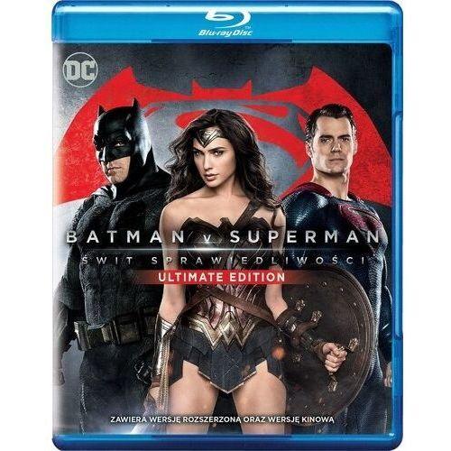 Batman v superman: świt sprawiedliwości ultimate edition (blu-ray) - marki Zack snyder