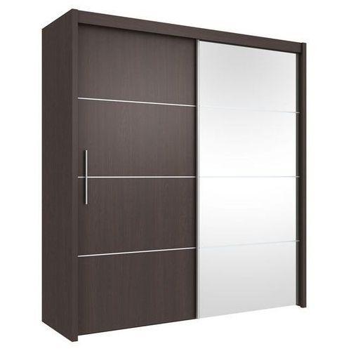 IWONA przesuwna szafa 2 drzwiowa z lustrem, MARIO factory design