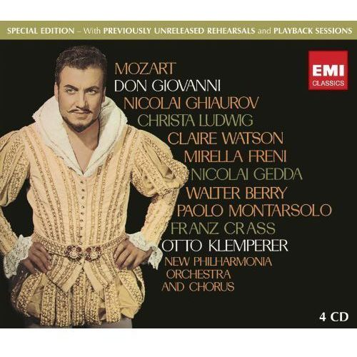 DON GIOVANNI - Klemperer, Schwarzkopf, Philh.o. (Płyta CD)