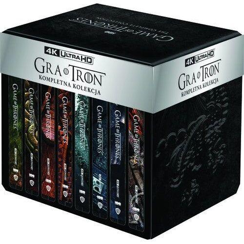 Gra o tron. kompletna kolekcja. sezony 1-8 (33bd 4k) deluxe steelbook (płyta bluray) (7321932354270)