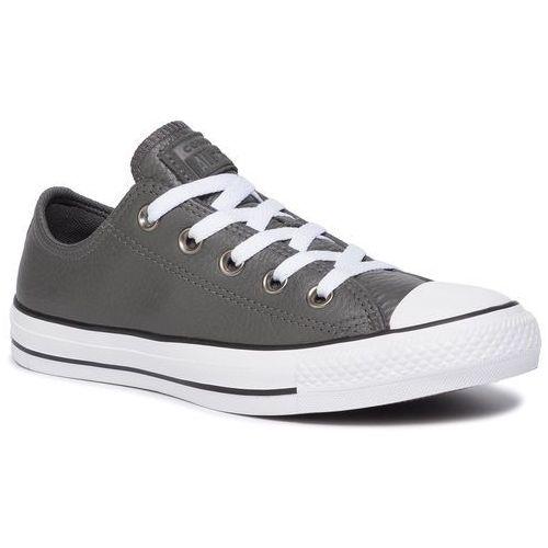 Trampki CONVERSE - Ctas Ox 165193C Carbon Grey/White/Black