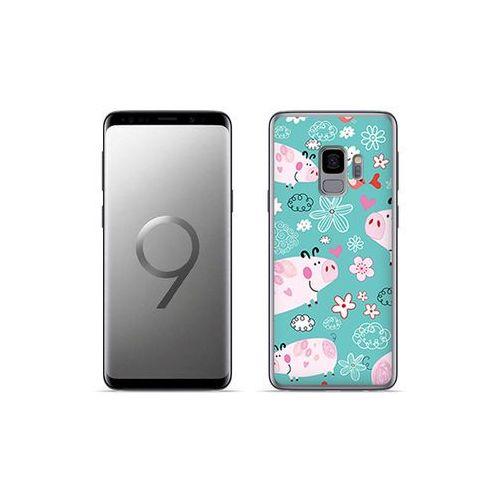 Etuo fantastic case - samsung galaxy s9 plus - etui na telefon fantastic case - różowe świnki marki Etuo.pl
