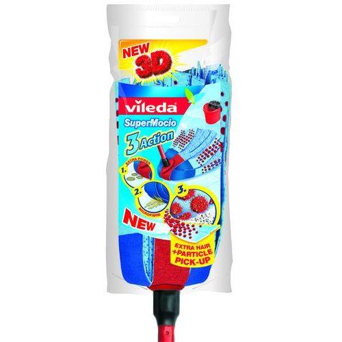 VILEDA Mop paskowy SuperMocio 3Action Velour (mop)
