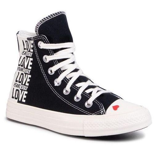Converse Trampki - ctas hi 567309c black/egret/uuniversity red