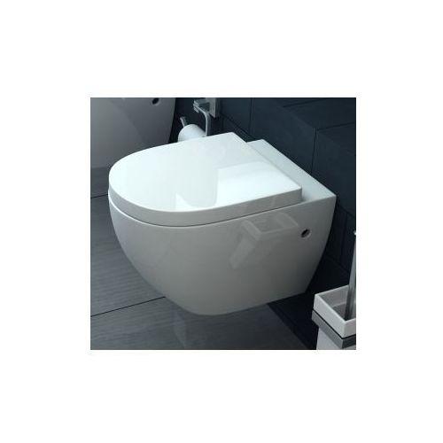 CARLO RIMLESS Miska WC wisząca bezrantowa + deska wolnoopadająca z kategorii Miski i kompakty WC