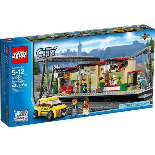 Lego City Dworzec kolejowy 60050 z kategorii: klocki dla dzieci