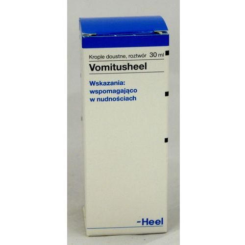 Heel vomitusheel krople 30 ml, postać leku: krople