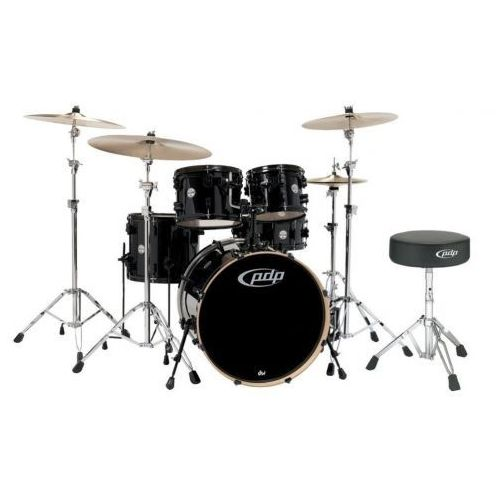 PDP (PD802600) Drumset MAINSTAGE, Black Metallic Black HW