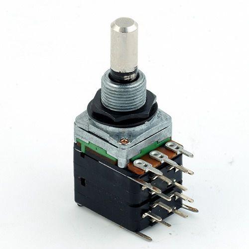Mec 16 mm potencjometr gitarowy a250k-pp, 4pdt,on-on