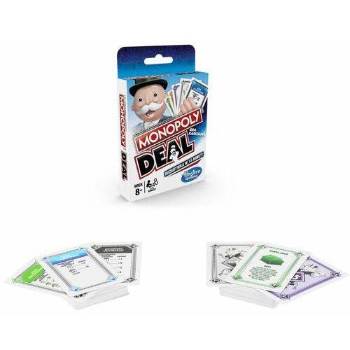 Hasbro Monopoly deal + prezent do zakupów za min.30 zł. (5010993555055)