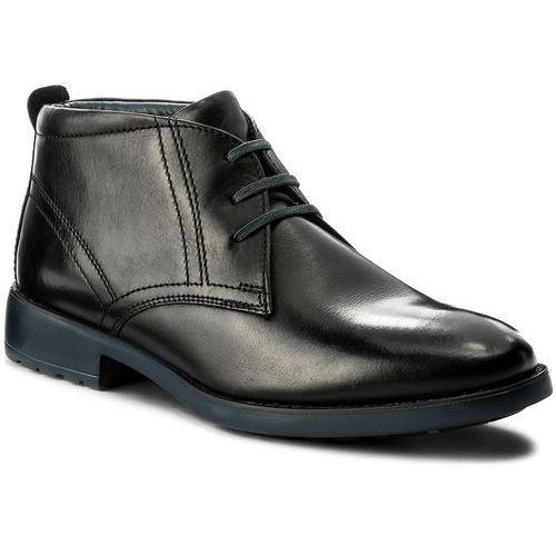 Trzewiki CANGURO - A161-300 Nero, kolor czarny