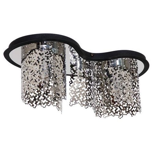 Sokeri lampa sufitowa 2-punktowa chrom 685H / czarna 685H/1, 685H