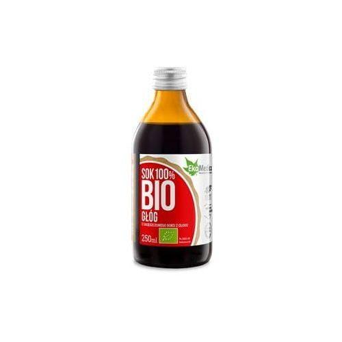 Głóg sok bio 250 ml marki Ekamedica