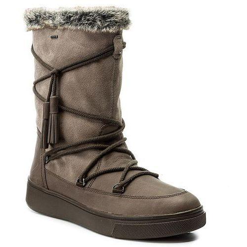Śniegowce GEOX - D Mayrah B ABX A D743MA 04522 C6132 Chestnut/Taupe, 35-41