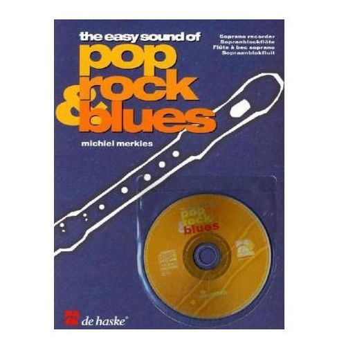 The Easy Sound of Pop, Rock & Blues, für Sopranblockflöte, m. Audio-CD