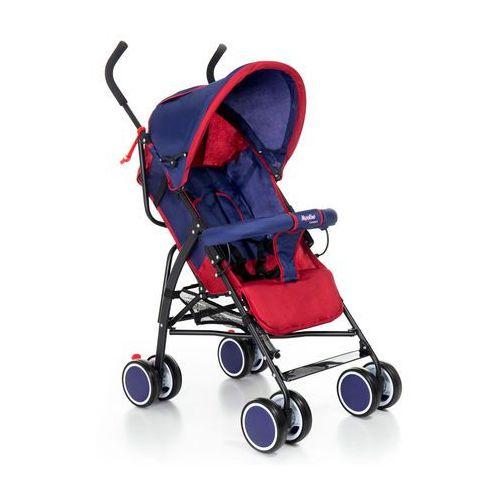 Wózek spacerówka Moolino Compact C granatowo-czerwony, A811C