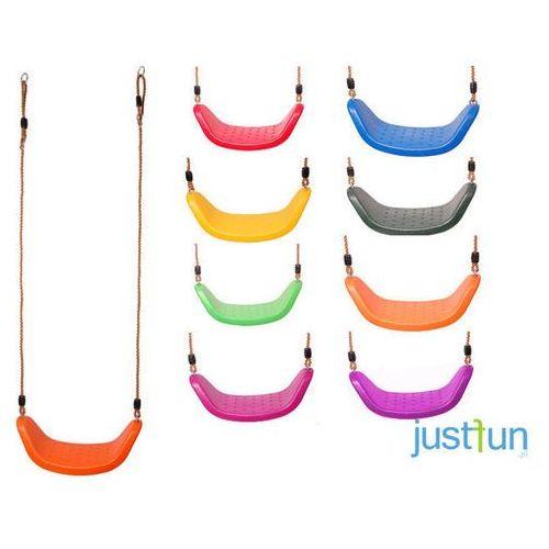 Huśtawka plastikowa LUX - fioletowy z kategorii huśtawki ogrodowe