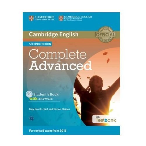 Testbank Complete Advanced Second Edition, w. CD-ROM