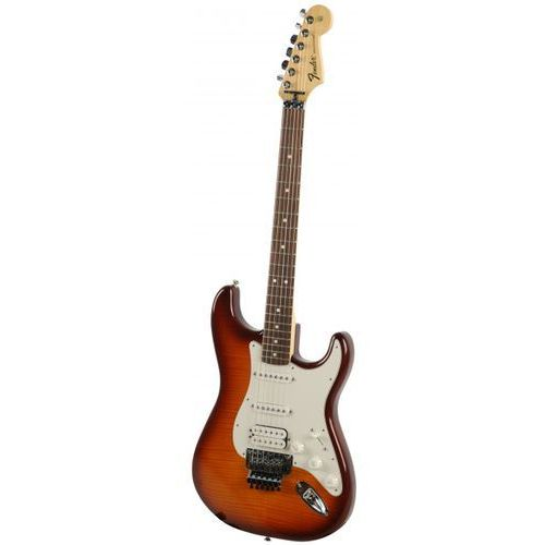 Fender standard stratocaster tbs plus top with locking tremolo gitara elektryczna, podstrunnica palisandrowa