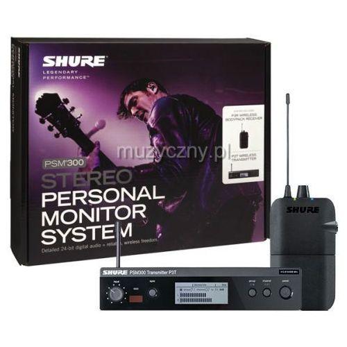 psm 300 p3tr bezprzewodowy system monitorowy: nadajnik p3t, odbiornik p3r marki Shure