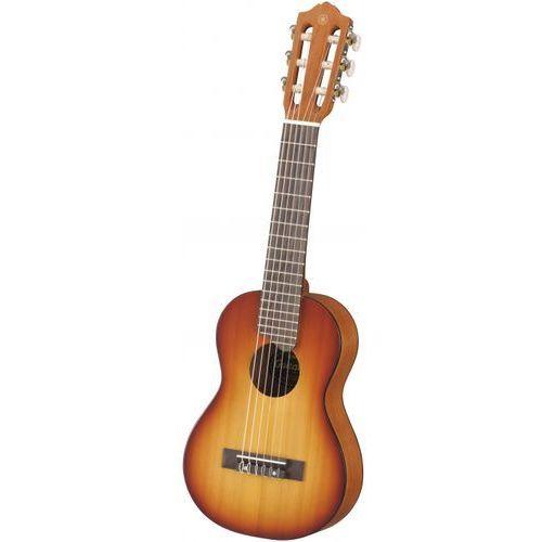 gl 1 tbs ukulele, 6 strun (z pokrowcem) podpalany brąz marki Yamaha