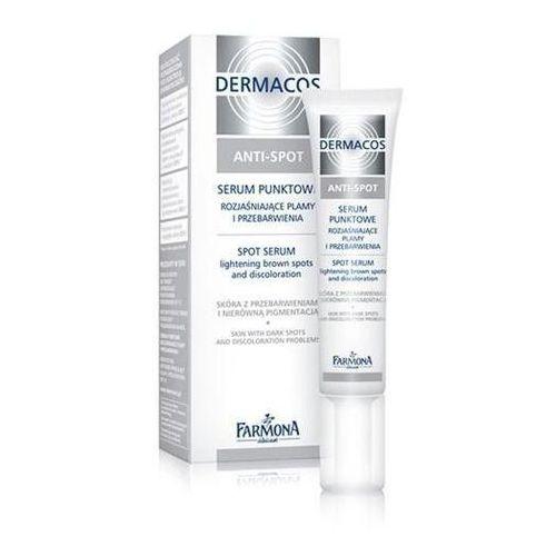 Dermacos Anti-Spot Serum punktowe rozjaśniające plamy i przebarwienia, 15 ml, Farmona
