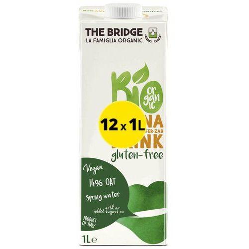 Napój Mleko Owsiane Bezglutenowe 12x1LThe Bridge EKO (7,30zł za 1szt.)