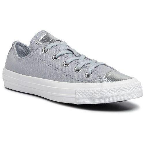 Converse Trampki - ctas ox 565202c wolf grey/wolf grey/white