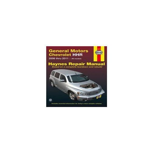 Repair manual sprawd chevrolet hhr automotive repair manual 15887 z with a haynes manual you can do it yourselfom simple maintenance to basic repairs publicscrutiny Images