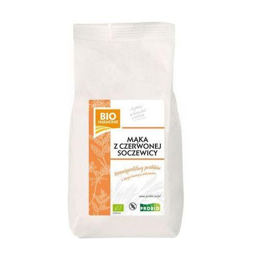 Probio Mąka z czerwonej soczewicy bezglutenowa bio 450 g - bio harmonie (8595582408044)
