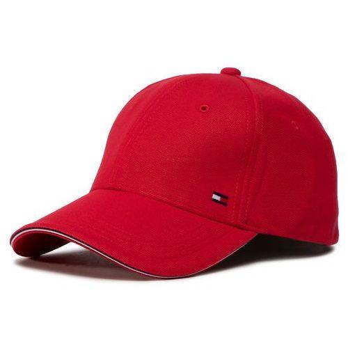Czapka z daszkiem TOMMY HILFIGER - Elevated Corporate Cap AM0AM05763 XBE, kolor czerwony