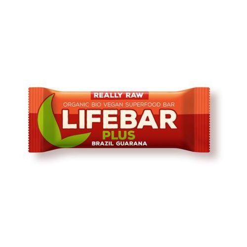 Baton z orzechami brazylijskimi i guaraną raw bio 47 g - lifefood marki Lifefood (batony raw, syrop z jakonu)